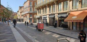 Cobrane et URBY livre le centre ville de Toulouse